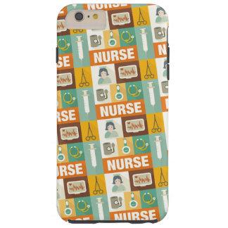 Berufliches Krankenschwester Iconic entworfen Tough iPhone 6 Plus Hülle