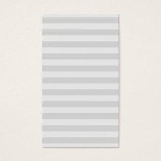Berufliches modernes graues Streifenmuster einfach Visitenkarten