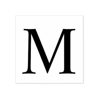 Berufliches modernes Monogramm Gummistempel