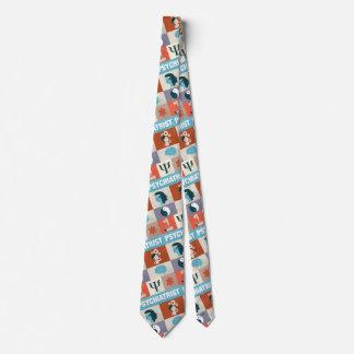 Berufliches Psychiater Iconic entworfen Bedruckte Krawatten