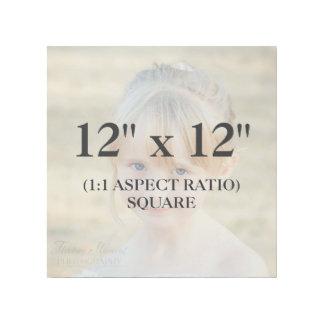 Berufliches Quadrat 12x12 addieren Ihre Galerieleinwand
