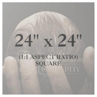 Berufliches Quadrat 24x24 addieren Ihre Galerieleinwand