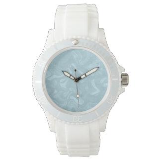 Beruhigendes Aqua Uhr