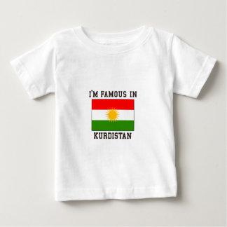 Berühmt im Kurdistan Baby T-shirt
