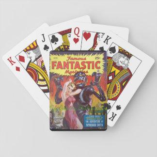Berühmte fantastische Kunst der Geheimnis-13_Pulp Spielkarten