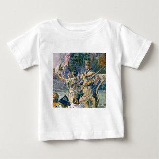 berühmte Forscher und Squaw Baby T-shirt
