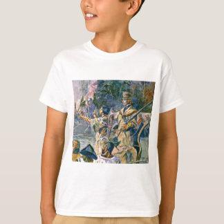 berühmte Forscher und Squaw T-Shirt