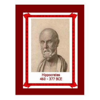Berühmte Leute, Hippokrates, Postkarte
