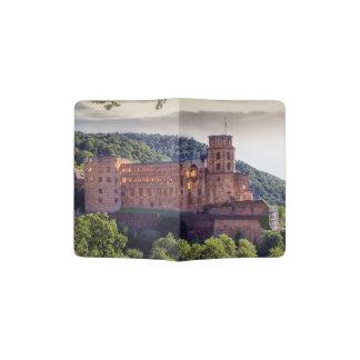 Berühmte Schlossruinen, Heidelberg, Deutschland Passhülle