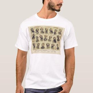 Berühmte verbündete Kommandanten des zivilen T-Shirt