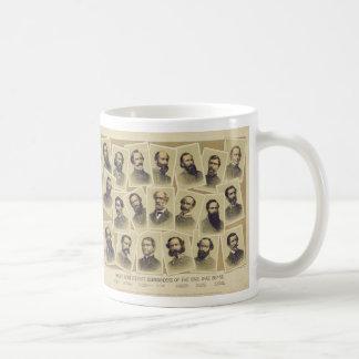 Berühmte verbündete Kommandanten des zivilen Tasse