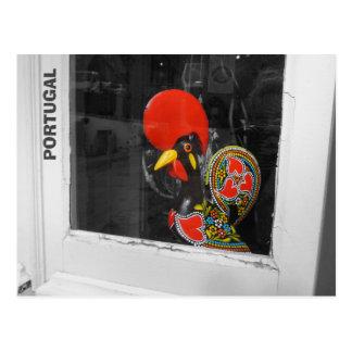 Berühmter Hahn von Barcelos Foto - Portugal Postkarte