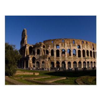 Berühmtes Colosseum in Sehenswürdigkeit 2 Roms Postkarte