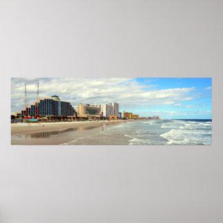 Berühmtes Daytona Beach Florida Plakat