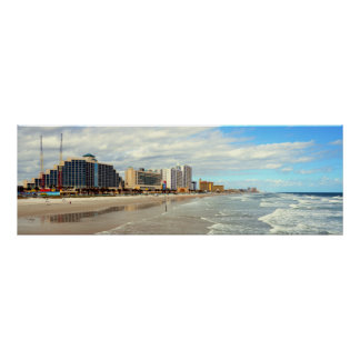 Berühmtes Daytona Beach Florida Poster