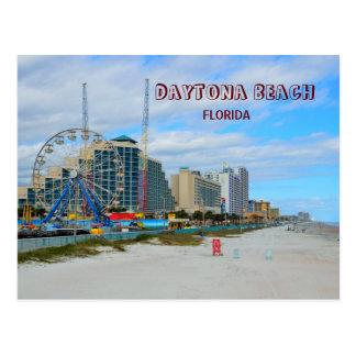 Berühmtes Daytona Beach Florida Postkarte