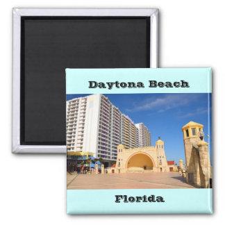 berühmtes Daytona Beach Florida Quadratischer Magnet