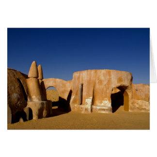 Berühmtes Film-Set Stern-Kriegsfilme in Sahara Karten