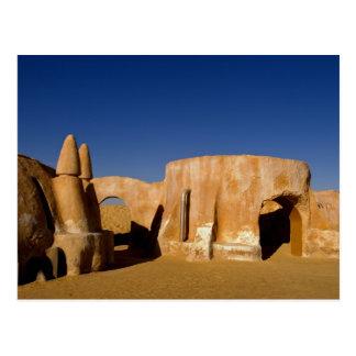 Berühmtes Film-Set Stern-Kriegsfilme in Sahara Postkarte