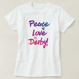 Berühmtes Pferderennen FriedensLiebe-Derbys T-Shirt