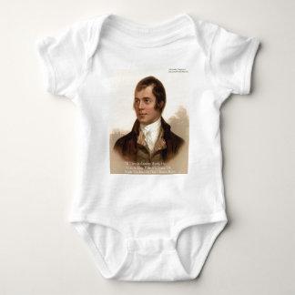 Berühmtes Zitat Robert Burnss Baby Strampler