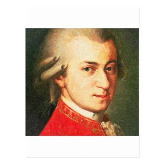 Berühmtheiten Wolfgang Amadeus Mozart 2 Postkarte