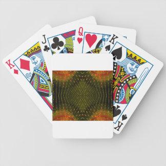 Beschaffenheit der hellorangeen grünes Licht-Sache Poker Karten