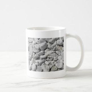 Beschaffenheit der Kiesel von einem Strandufer Kaffeetasse