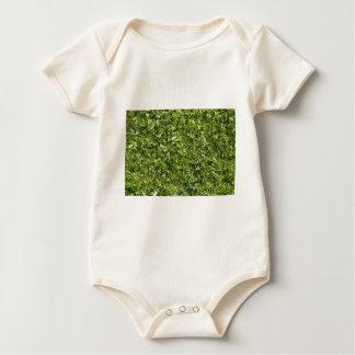Beschaffenheit des wilden Grases und des Klees Baby Strampler
