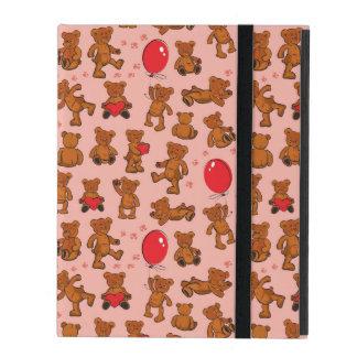 Beschaffenheit mit Teddybären, Herzen iPad Schutzhüllen