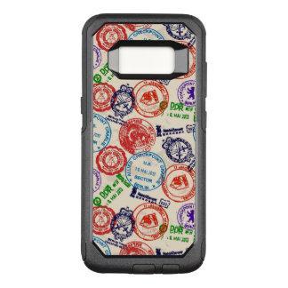 Beschaffenheit mit wirklichen Stempeln OtterBox Commuter Samsung Galaxy S8 Hülle