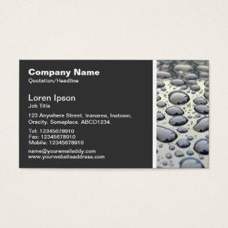 Beschaffenheits-Ton - Auto-Haube Visitenkarte