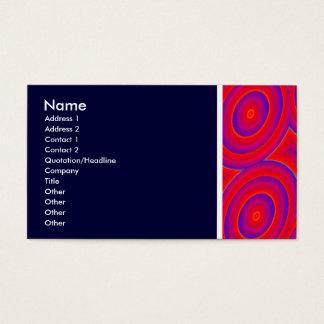 Beschaffenheits-Ton (schwingen Sie) mit - Visitenkarte