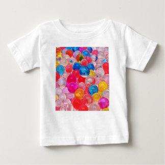 Beschaffenheitsgeleebälle Baby T-shirt