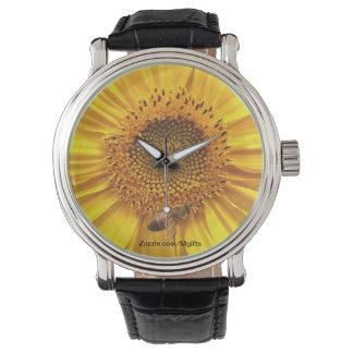 Beschäftigte Biene Armbanduhr