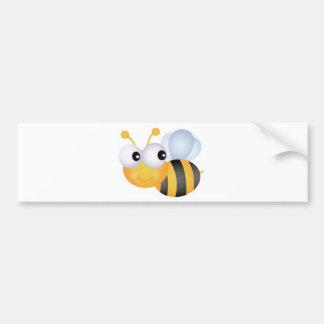 Beschäftigte Biene Auto Sticker