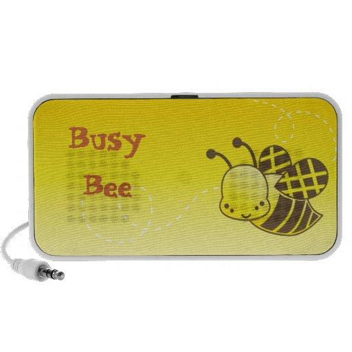Beschäftigte Biene niedliche kawaii Bienen-Lautspr Speaker System