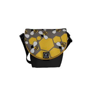 Beschäftigte Bienen Kurier Tasche