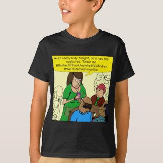 Beschäftigter Cartoon der Kellnerin 791 T-Shirt