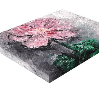 Beschatteter Blumenblatt-Öl-Leinwand-Druck Leinwanddruck