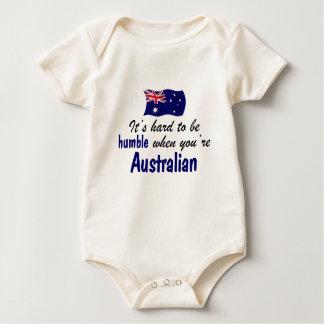 Bescheidener Australier Baby Strampler