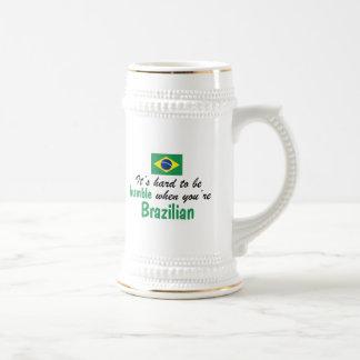 Bescheidener Brasilianer Bierglas