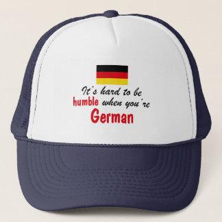 Bescheidener Deutscher Truckerkappe