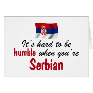 serbische flagge gru mitteilungskarten. Black Bedroom Furniture Sets. Home Design Ideas