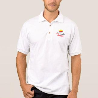 Bescheidenes Moravian Polo Shirt