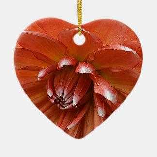 Bescheidenheit Keramik Herz-Ornament