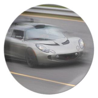 Beschleunigensport-Auto Party Teller
