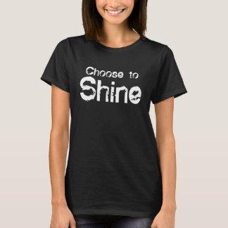 Beschließen Sie, Damen-Shirt zu glänzen T-Shirt
