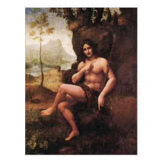 Beschreibung Polski: Obraz szkoy Leonarda da Vinci Postkarte