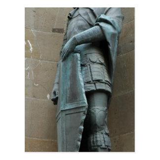Beschreibungs-Beschreibung St George. Bronzekopie  Postkarten